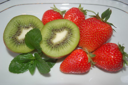 Erdbeeren & Kiwi